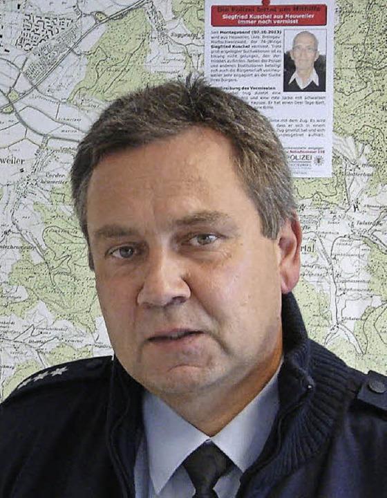Michael NowakPolizeihauptkommissar (PHK), Leiter Pp Gundelfingen    Foto: Andrea Steinhart