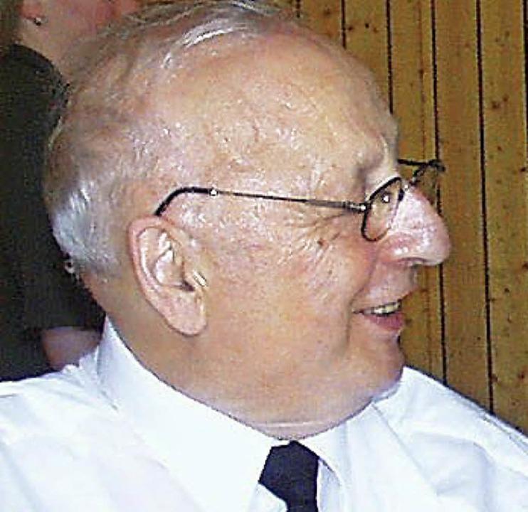 Immer wieder zog es Pfarrer Hermann Li...ingen, wie hier beim Kirchenfest 2002.    Foto: Christa Maier