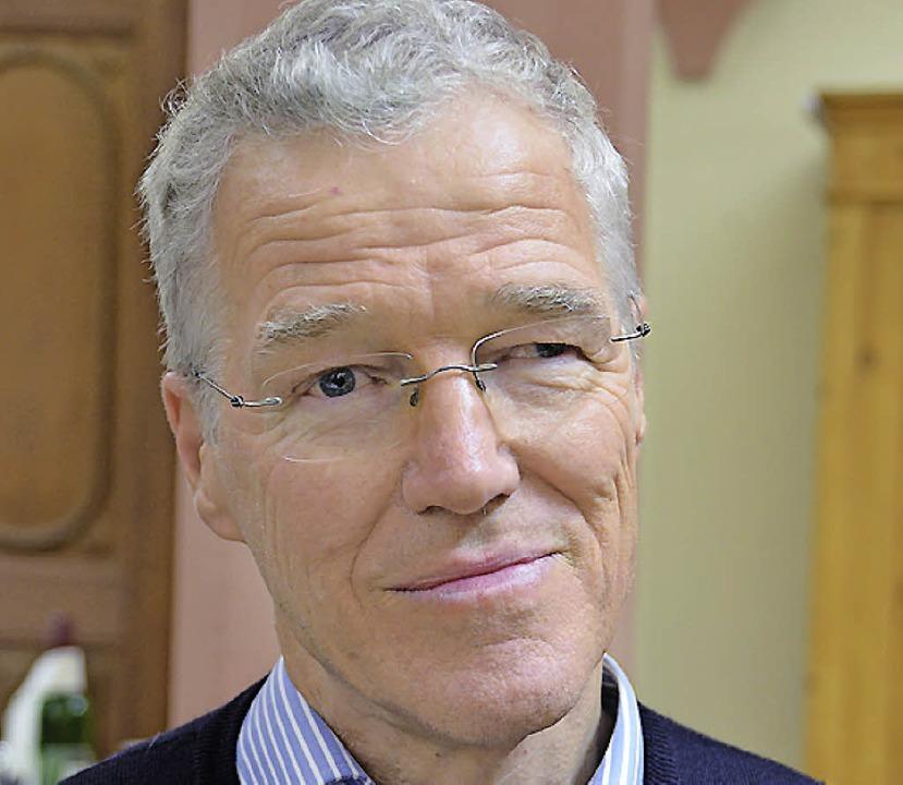 Peter Hoppe-Seyler ist Neumitglied  im Aufsichtsrat.     Foto: Sigrid Umiger