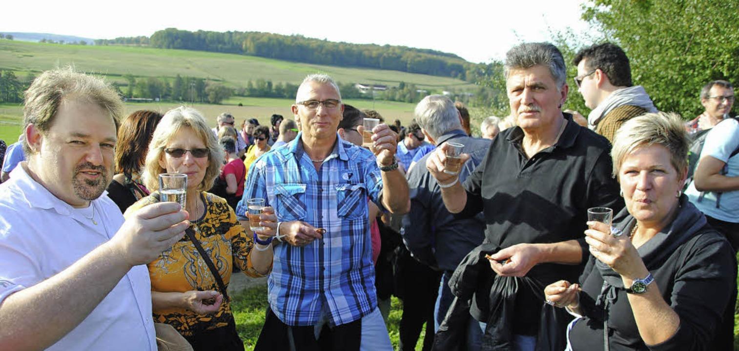 Auf der Wanderung von Hammerstein nach...   neuen oder älteren  Wein genießen.   | Foto: sedlak