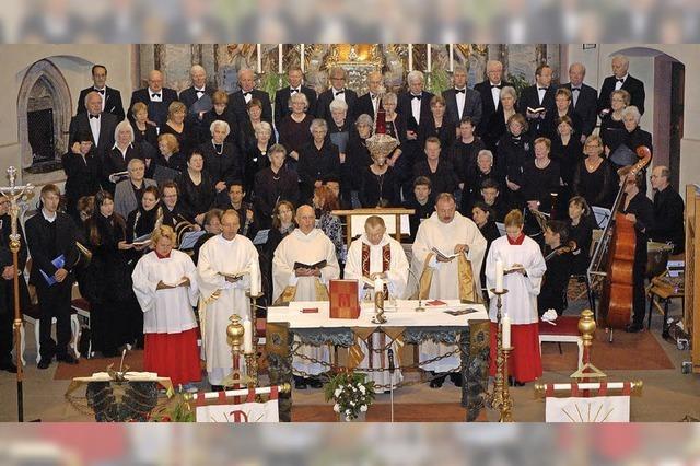 Festgottesdienst zum 250. Geburtstag von St. Gallus Hofweier