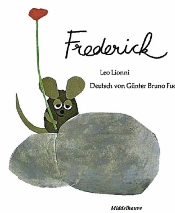 Gab der Aktion den Namen: Frederick, das Buch von Leo Lionni.    Foto: BE