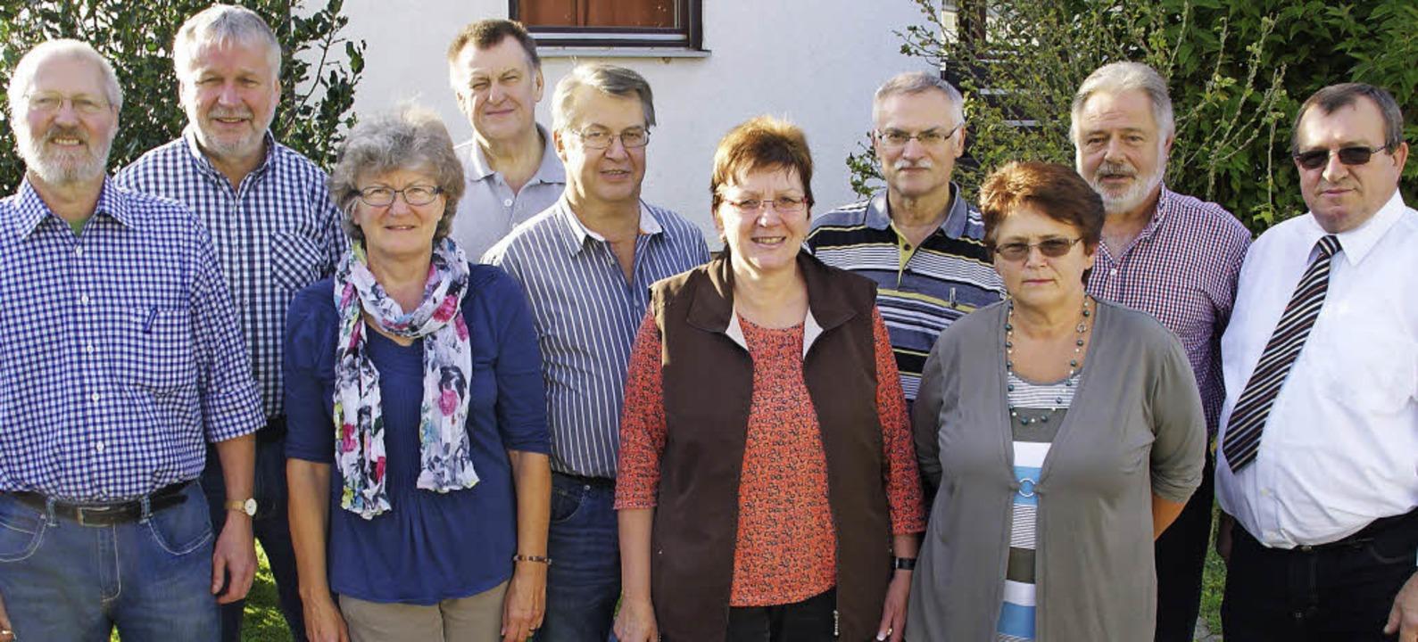 Den VdK Wehr führen fortan (von links)...lka, Michael Keiper, Walter Kaufmann.     Foto: H. Miloslavic