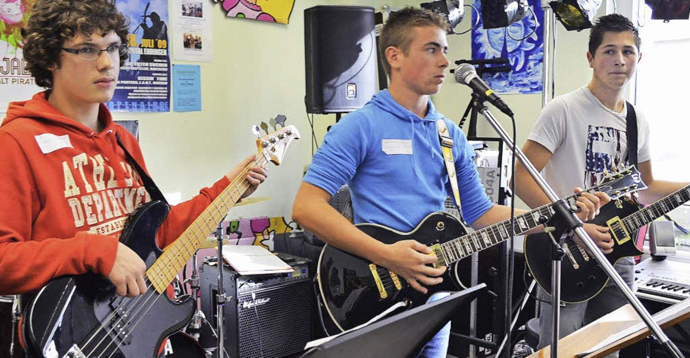 """Die jungen Musiker von """"Cours Bo...fanden in Rheinfelden gleich Anklang.     Foto: Friederike Nottbrock"""