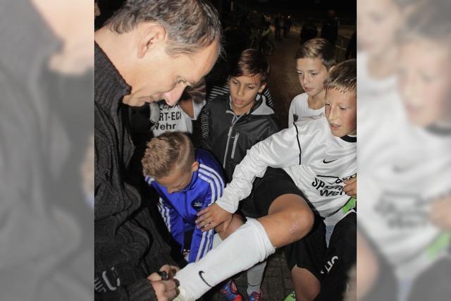 FC Wehr benennt Kunstrasenplatz nach Uwe Wassmer