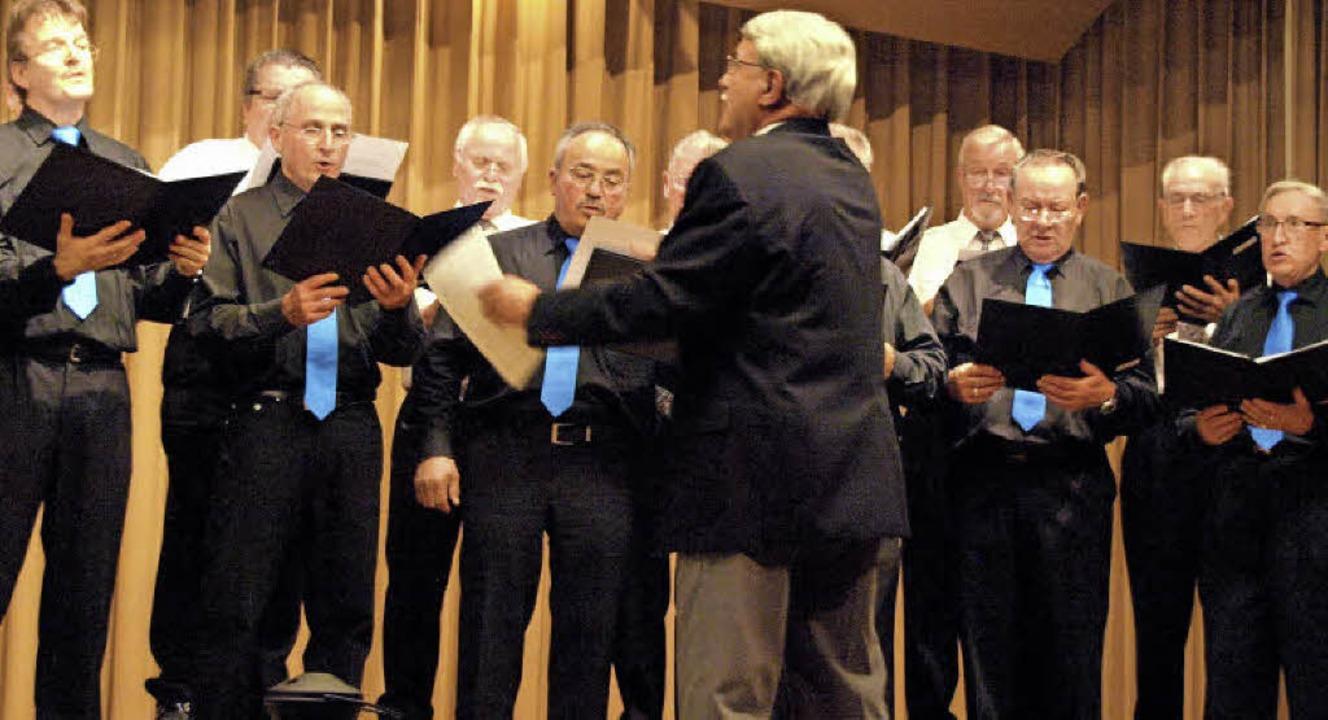Opernchöre hatten die Männergesangvere...nbach und Harpolingen auf dem Programm  | Foto: Karin Stöckl-Steinebrunner