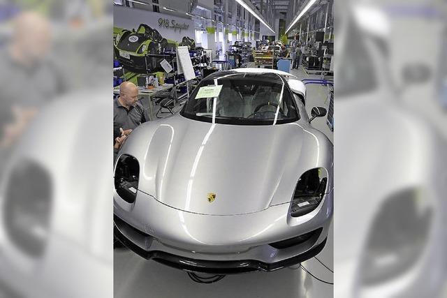 Porsche führt 34-Stunden-Woche ein