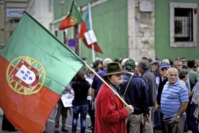 Protest in Rom und Lissabon