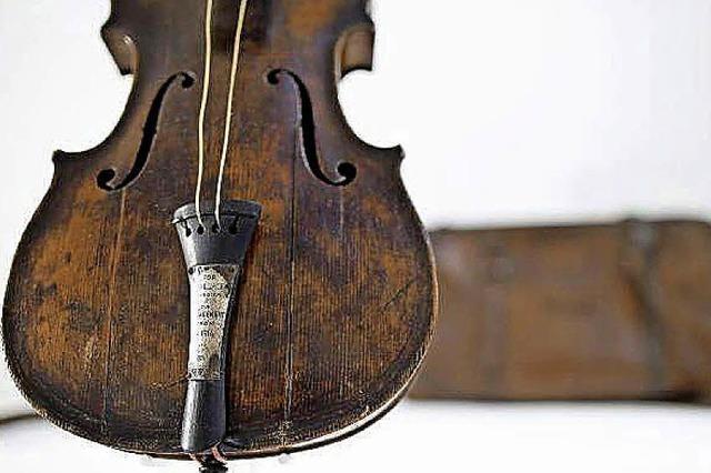 Mehr als eine Million Euro für Titanic-Geige