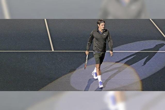 Federers Suche nach dem Erfolg