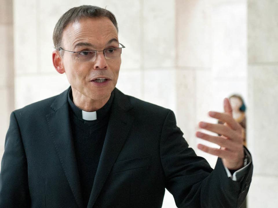 Umstritten: Der Limburger Bischof Tebartz-van Elst  | Foto: dpa