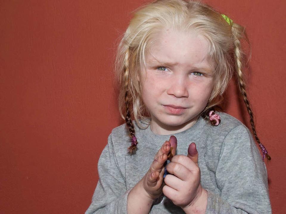 Wer sind die Eltern der kleinen Maria?    Foto: Greek Police / Handout