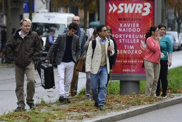 Bombenalarm in Freiburg - Fahndung noch ohne Ergebnis