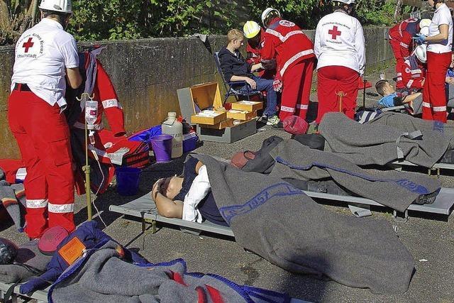 Sieben Personen aus brennendem Haus gerettet