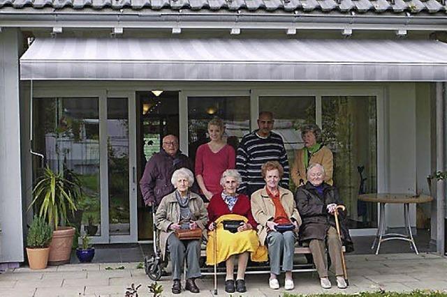 Elisabethverein spendet Markise