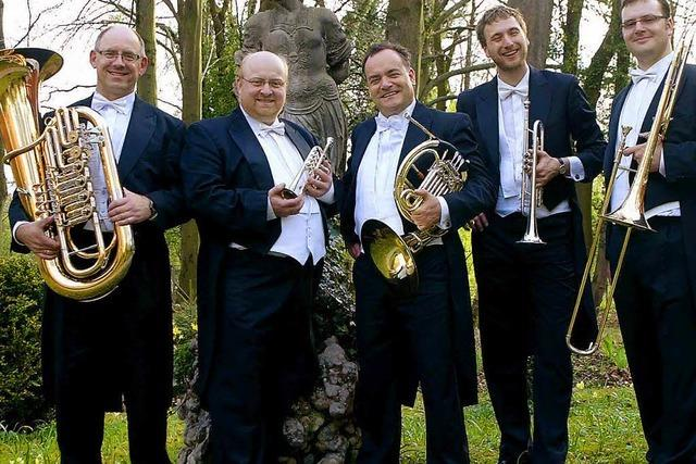 So klingt Blech: Konzert mit Harmonic Brass in Sexau