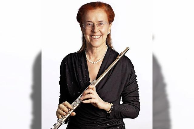 Flötentöne: Soloabend mit Barbara Hank in Freiburg