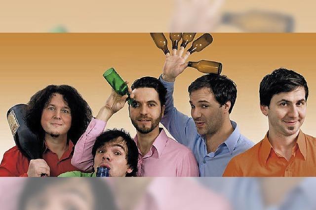 MITTWOCH: COMEDY: Humor aus der Flasche