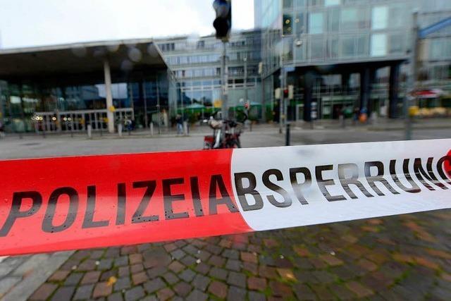 Bombendrohung in Freiburg: Polizei hat eine konkrete Spur
