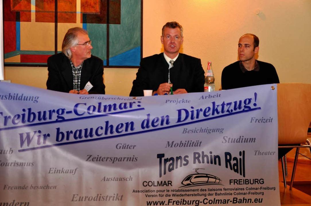 In der Breisacher Spitalkirche wurde ü...ischen Freiburg und Colmar diskutiert.  | Foto: Kai Kricheldorff