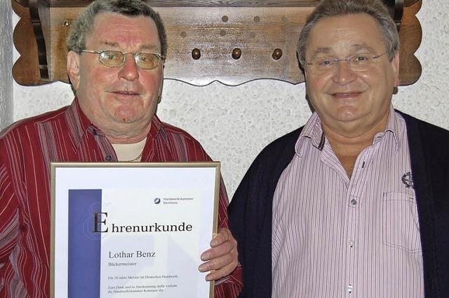 50 Jahre im Dienste von Weckle, Brot und Kuchen