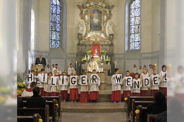 Loblied auf St. Wendelin
