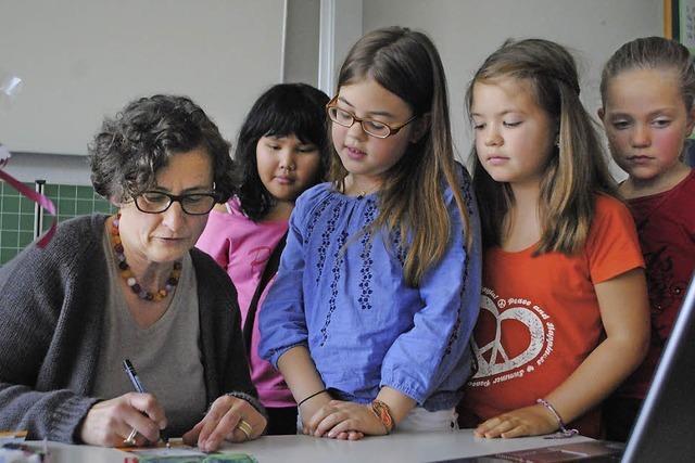 Lesen steht in der Rosenburgschule immer im Mittelpunkt