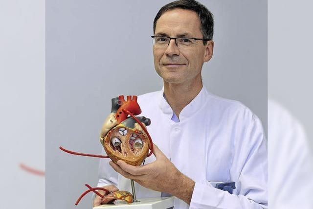 Kinderherzchirurg Johannes Kroll: Der Anfangsstress ist längst gewichen