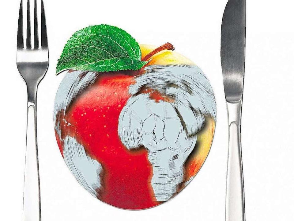 Äpfel haben das ganze Jahr Saison. Nic...ierte Frucht verdirbt die Klimabilanz.  | Foto: BZ