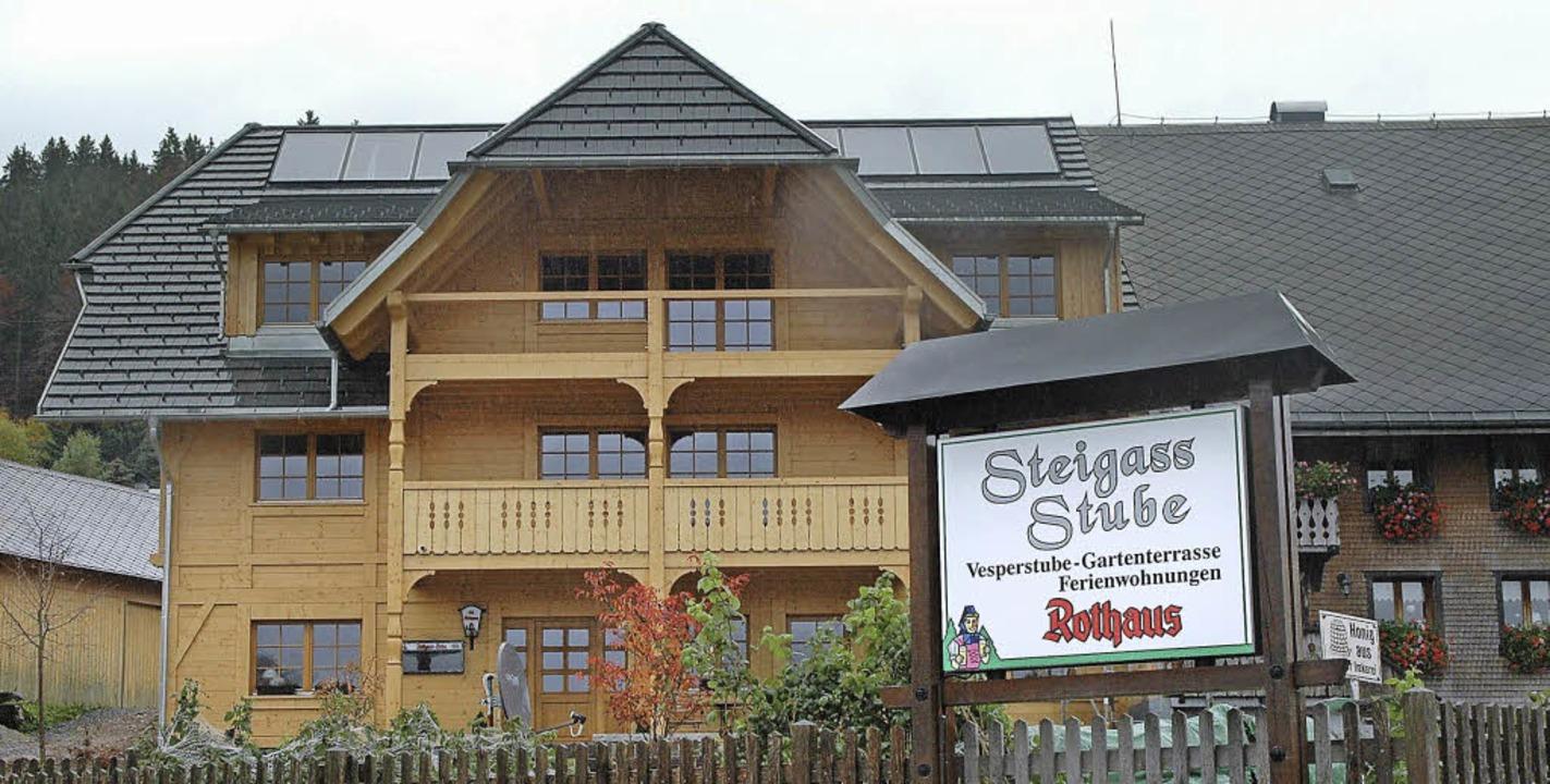 Die neue Steigass-Stube in Oberibach &...t und ein Treffpunkt für Jung und Alt   | Foto: stefan sahli