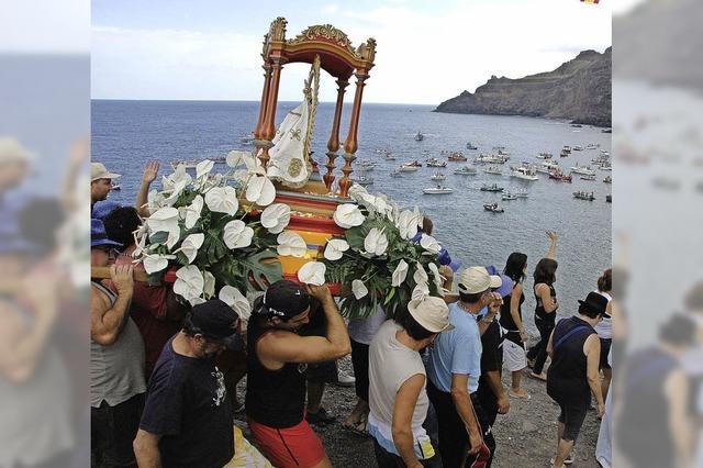 FLUCHTPUNKT: Gomera feiert seine Jungfrau