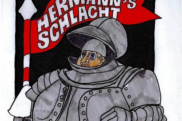 """""""Hermanns Schlacht"""" im Theater Rampe"""