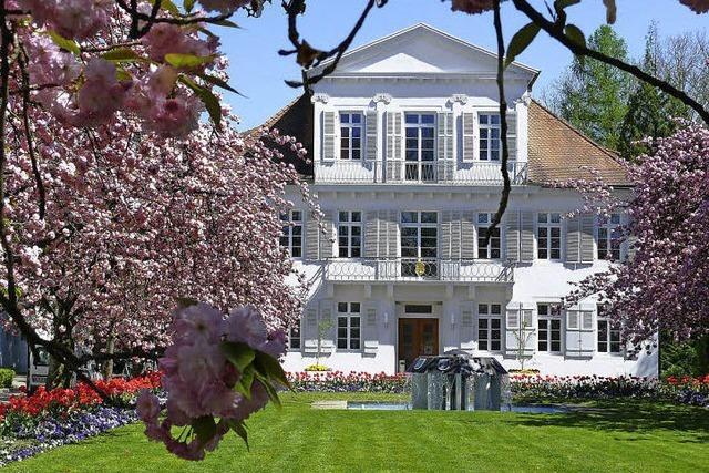 Das Lahrer Rathaus – Carl Ludwig von Lotzbecks grüne Oase