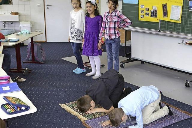 Wie das muslimische Opferfest gefeiert wird