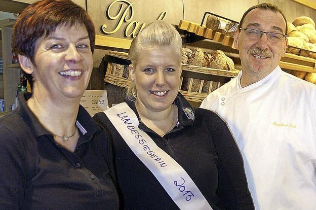 Bäckereifachverkäuferin – für Stefanie Reiß der Traumberuf