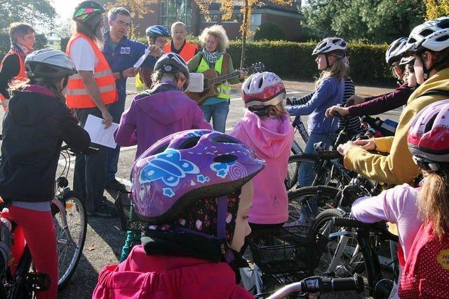 Kinder erleben Bibelgeschichten per Rad
