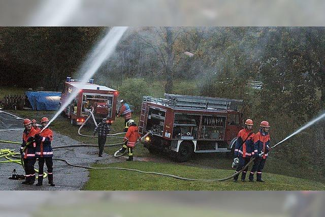 Flächenbrand löschen statt geselligem Beisammensein