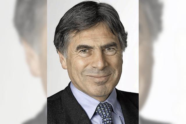 Christoph Eymann - der Brückenbauer vom Rheinknie