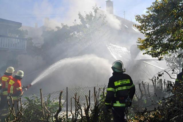 Feuerwehr rettet Orgelbaubetrieb