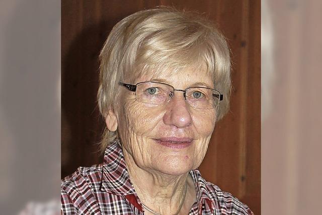 Anita Tröndle an der Spitze