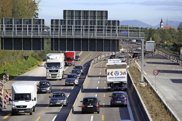 Autobahnausbau erst 2014 fertig