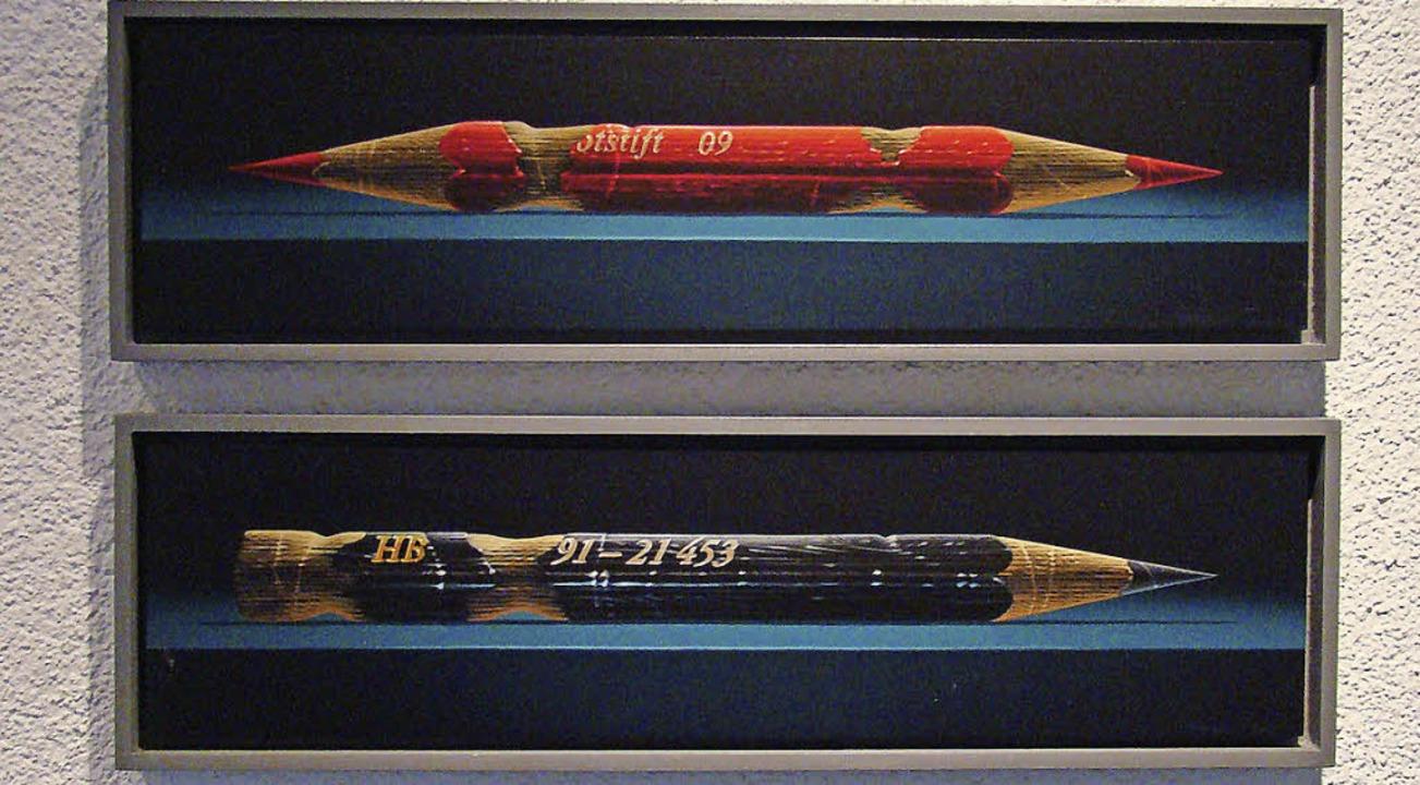 Zwei einer Art, porträtiert von Uwe Gräbner   | Foto: susanne ramm-weber