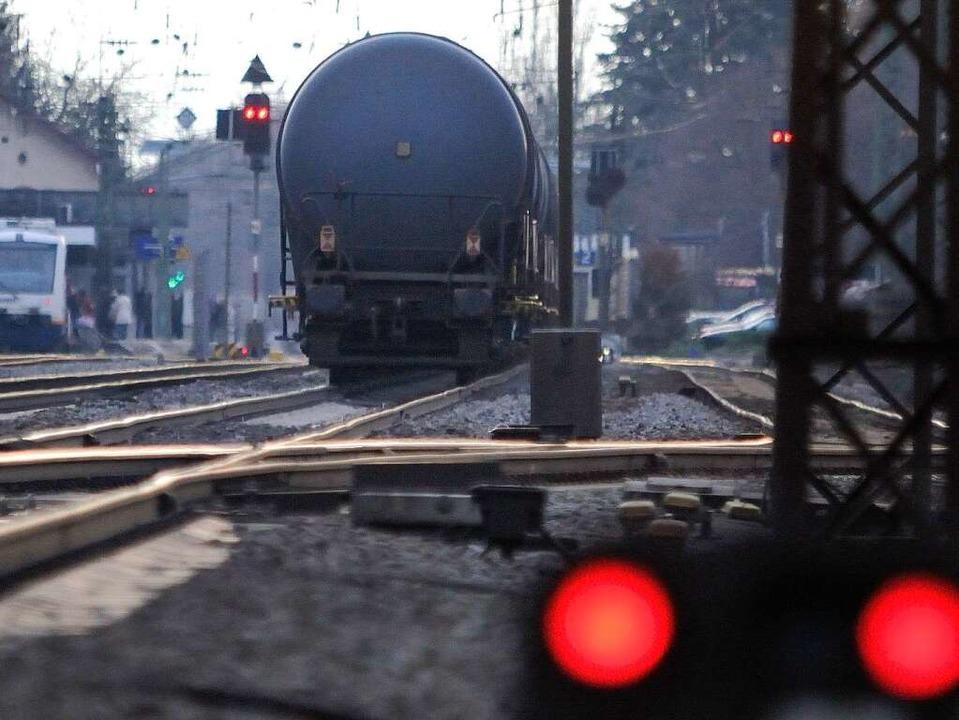 Die Rheintalbahn wird ausgebaut.  | Foto: Siegfried Gollrad