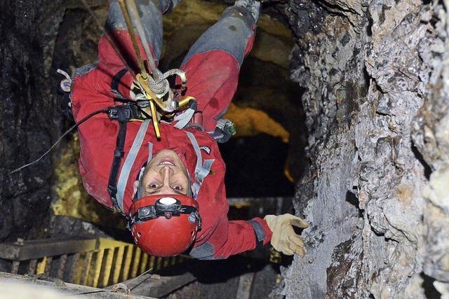 Besucherbergwerk Schauinsland: Bergwacht probt den Ernstfall