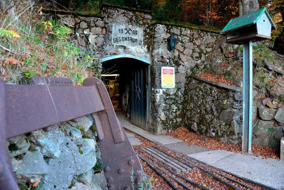 Der Eingang des Besucherbergwerks auf dem Schauinsland (Foto: Max Schuler)