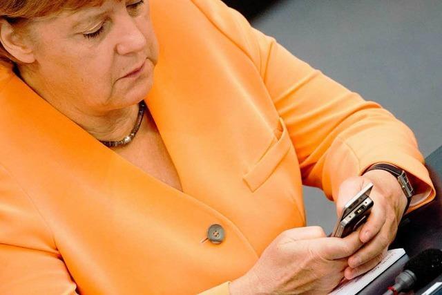 USA hört Merkel ab