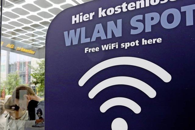 Kostenlos ins Internet per WLAN am Marktplatz?
