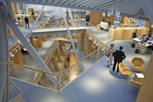 Campus-Projekt schafft schöne neue Arbeitswelt