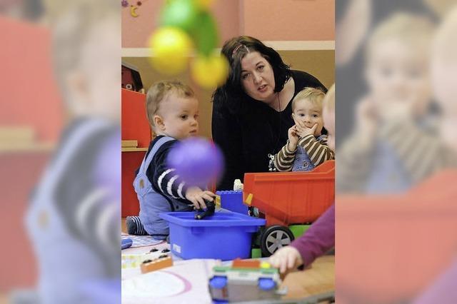 Mehr Geld für die Kindertagespflege