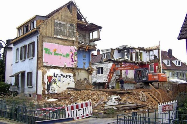 In Alt-Herdern verschwinden immer mehr alte Gebäude